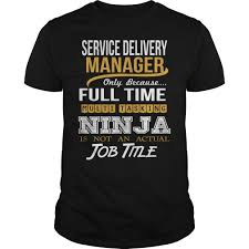 service delivery manager ninja new