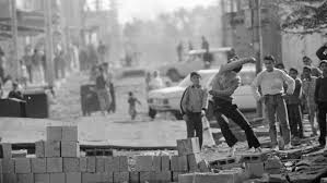 'Children of <b>the stones': the</b> day Palestine was reborn | Intifada | Al ...