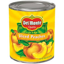 Del Monte Sliced <b>Peaches</b> in Light Syrup (106 oz. can) - Sam's Club