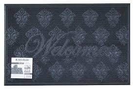 Купить <b>Придверный коврик Attribute</b> Relief, размер: 0.6х0.4 м ...