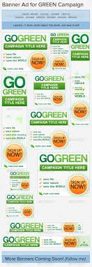 best images about banners ad design affiliate go green banner ads