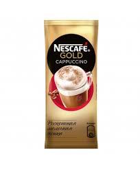 nescafe gold cappuccino напиток кофейный растворимый с молочной пенкой 8 по 17 г