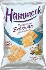 Купить Пшеничные <b>Бейкитсы HAMMOCK</b> запечённые с <b>морской</b> ...