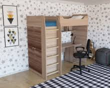 <b>Кровать</b>-<b>чердак Комфорт</b> (правый/левый) | Мебельная фабрика ...