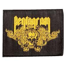 "<b>Pentagram ""Be Forewarned</b>"" Patch at https://www.indiemerchstore ..."