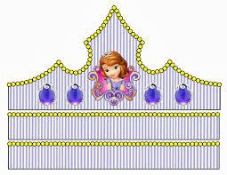 Resultado de imagen para kit imprimible fiesta princesa sofia