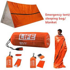 <b>Outdoor Portable</b> Waterproof Reusable <b>Emergency</b> Foil <b>Camping</b> ...