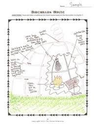 Birchbark House by Louise Erdrich Quiz   Question And Answer and HouseDraw a birchbark house diagram and label it using text evidence   The Birchbark House
