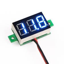 motorcycle voltmeter wiring diagram motorcycle drok dc voltage voltmeter drok on motorcycle voltmeter wiring diagram