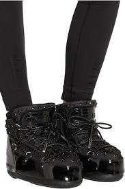 <b>Moon Boot</b> | + <b>Jimmy</b> Choo MB Buzz embellished faux patent ...