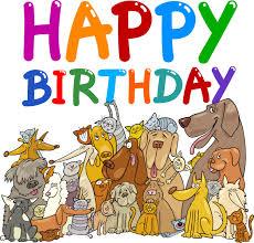 Image result for happy dog birthday pix