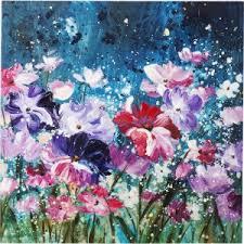 <b>Картина</b> Touched <b>Flower Garden</b> 100x100c