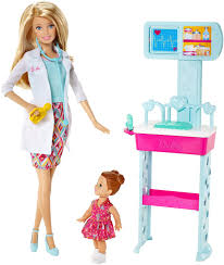 new barbie dolls and fashions for and  barbie careers pediatrician doll and playset