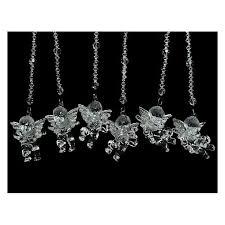 Новогоднее <b>украшение Crystal Deco</b> «<b>Ангел</b> с камнями». В ...