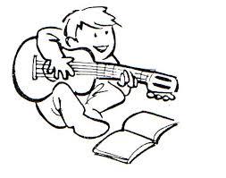 Resultado de imagen de tocar guitarra