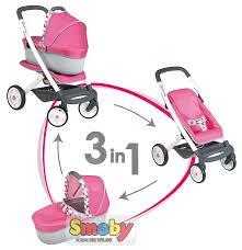 <b>Коляска для куклы Smoby</b> Quinny 3 in 1