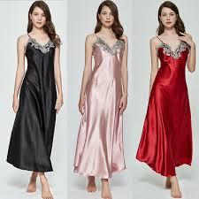 <b>Women Sexy Sleepwear Nightgown</b> Satin Silk Babydoll Lace Robes ...