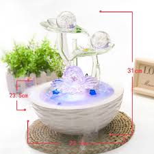 aliexpresscom buy wealth bring good luck water fountain fengshui crafts home decoration new year gifts office desk business gifts tan color from reliable bringing feng shui office