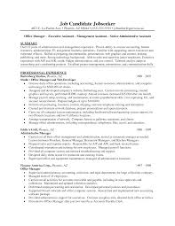 resume career goal objective