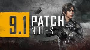 Update 9.1 – Patch Notes - PLAYERUNKNOWN'S BATTLEGROUNDS