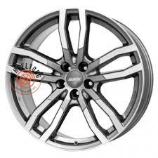 <b>Alutec DriveX</b> Metal Grey Front Polished <b>9.5x21/5x112</b> ET35 <b>D66</b>.<b>5</b> ...