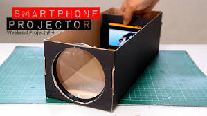 build a smartphone projector with a shoebox youtube build office video