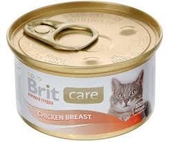<b>Brit Care Cat</b> Chicken Breast <b>консервы</b> для кошек с куриной ...