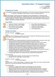 example of a good cv it cv cv template