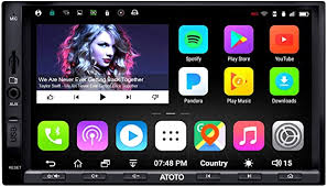 ATOTO A6 Double Din Android Car Navigation Stereo ... - Amazon.com