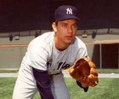 Stan Bahnsen in his New York Yankee pitching heyday