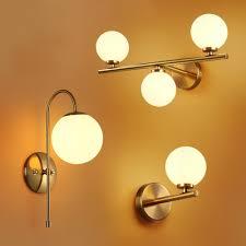 <b>Nordic Modern</b> LED Wall Lamps <b>Molecular</b> Glass Ball Wall Lights for ...