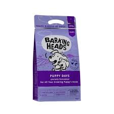 Беззерновой корм для щенков, <b>BARKING HEADS</b> Puppy Days ...
