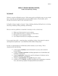 essay writing handout Imhoff Custom Services Hc formal essay handout