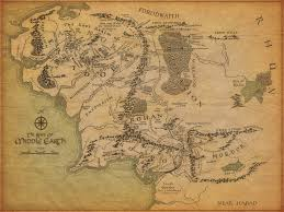 tolkien s english mythology the history vault middle earth map