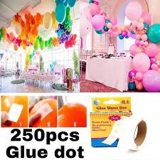 250pcs Water <b>Glue</b> Dot <b>balloon</b> sticky <b>glue</b>   Shopee Philippines