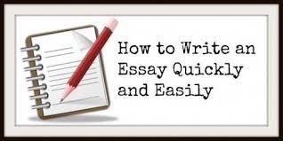 How To Write An Essay  Fast   Essay Writing Help internet evolution essays