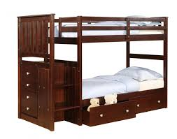 donco trading twin over twin stair stepper bunk bed 820cp kids bedroom furniture bunkbeds with stairs bunk bed steps casa kids