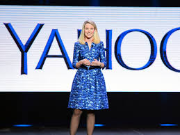 Image result for jerry yang and marissa mayer at yahoo