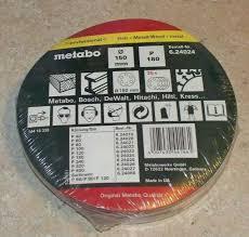 <b>Metabo</b> Satz 25 Haftschleifbl. <b>150 Mm P180</b> for sale online   eBay