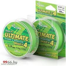 <b>Леска Allvega Ultimate</b> 0.18mm 135m 11.3kg Light Green ...