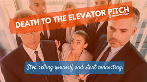 death to the elevator pitch career protocol