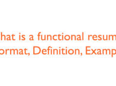 what is a functional resume format definition example a resume format
