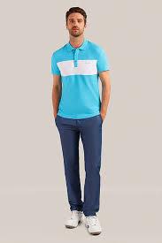 <b>Верхняя сорочка</b> мужская, цвет бирюзовый, артикул: S19 ...