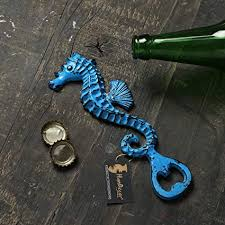Buy Two Moustaches Vintage Sea <b>Horse Design Bottle Opener</b> ...