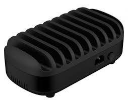 Сетевое <b>зарядное устройство Orico DUK-10P-BK</b> USB 2.4А черный