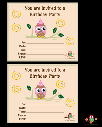 printable owl birthday party invitations birthday party then these invitations pink owl