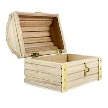 "ArtMinds® <b>Wood Treasure Chest</b>, 5.12"" x 3.43"" x 3.54"""