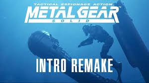 <b>Metal Gear</b> Solid 1998 Intro - Remake 2018 [4K] [UHD] - YouTube