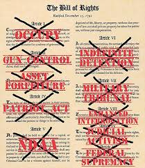 the bill of rights violated wilsonncteaparty