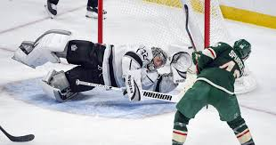 Kings falter late, fall to Wild for second straight loss - Los Angeles ...